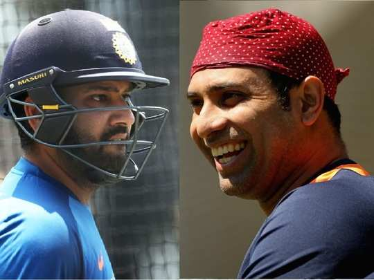Rohit Sharma and VVS Laxman 2020