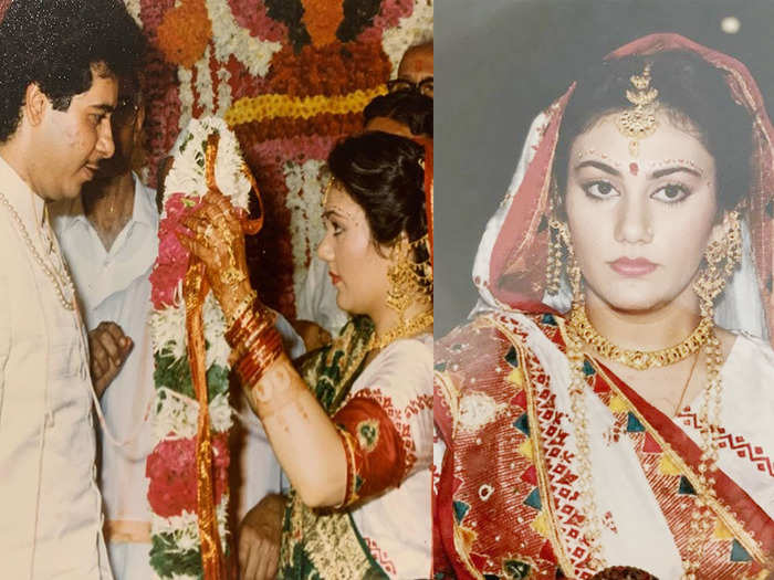sita dipika chikhlia shares her wedding album and interesing love story with hemant topiwala