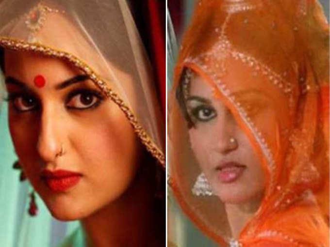 इन तस्वीरों में सोनाक्षी सिन्हा और रीना रॉय वाकई मां-बेटी लग रही हैं