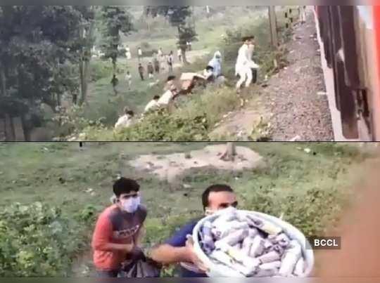 Shramik Passengers Offered Food In Bihar