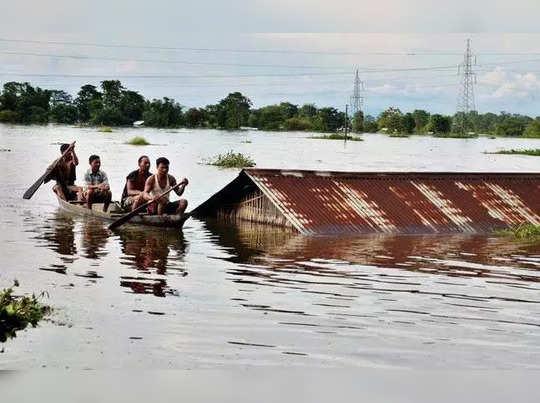 Assam flood situation is grim, 6 died