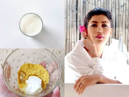 world milk day 2020 beauty benefits of applying raw milk on the skin and face mask