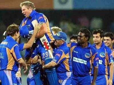 शेन वॉर्न की अगुआई में चैंपियन बना था राजस्थान रॉयल्स