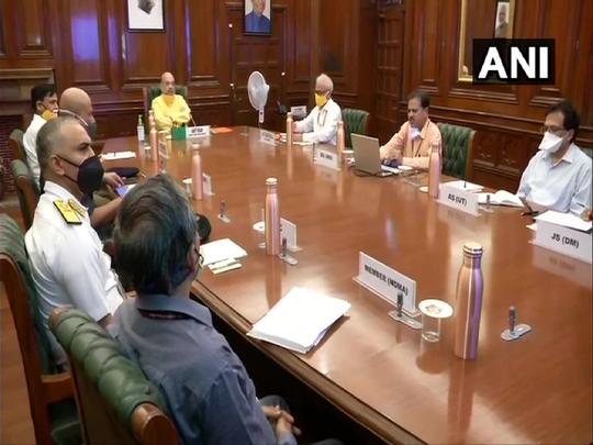 निसर्ग वादळाची मुंबईकडे कूच; अमित शाहांनी बोलावली बैठक