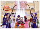 अनलॉक 1: राजस्थानी लोक कलाकारों ने जयपुर में किया अपनी कला का प्रदर्शन
