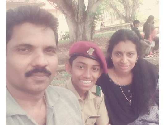 Aswin and family