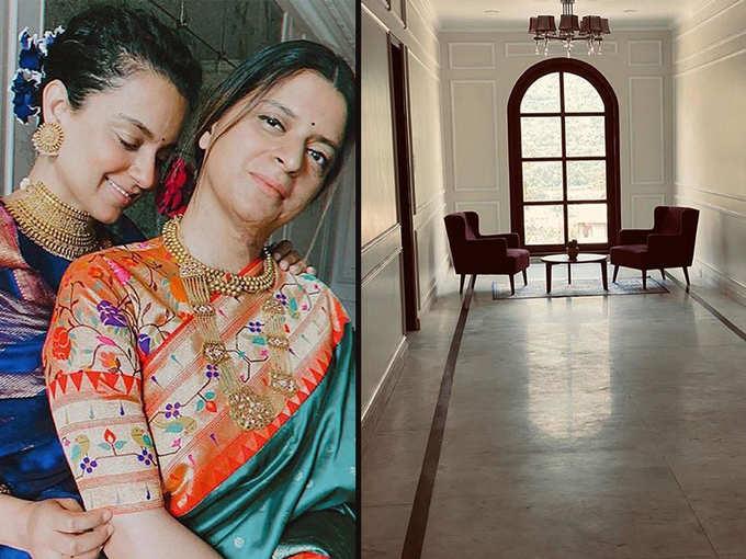 कंगना रनौत की बहन रंगोली के दिखाई अपने नए घर के कोने-कोने की तस्वीर