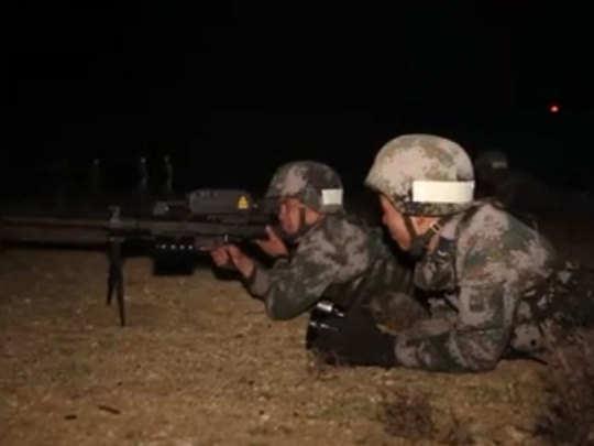 सीमेवर तणाव: तिबेटमध्ये चीनचा मध्यरात्री युद्धसराव