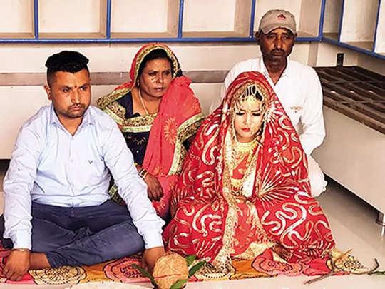 मुस्लिम कुटुंबाने केले हिंदू मुलीचे कन्यादान