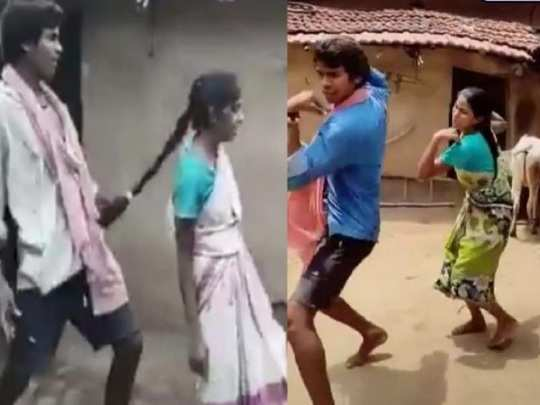dance video viral of two siblings from jharkhand