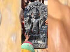 बिहार की धरती से निकली 800 साल पुरानी भगवान विष्णु की मूर्ति, घर बैठे देखें