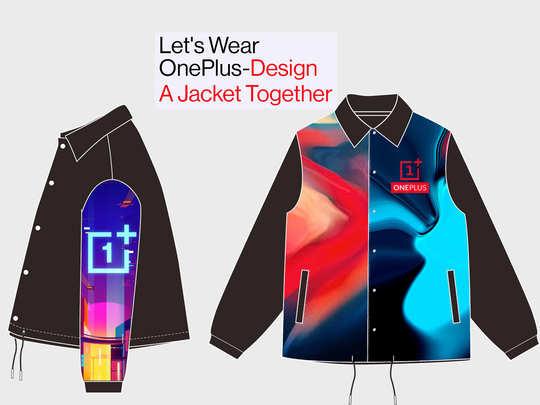 Oneplus बना रही जैकेट, आम यूजर्स से मांगे डिजाइन