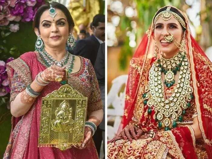 nita ambani gifted shloka mehta 300 crore rupees diamond necklace in marathi