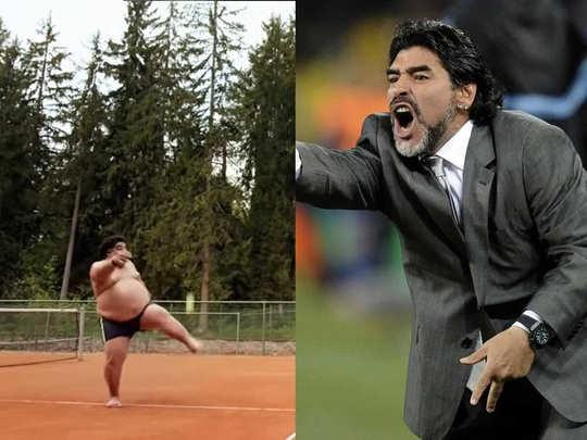 Video featuring fake Diego Maradona goes viral | Courtesy: Youtube/AP