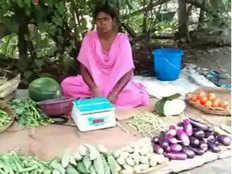 झारखंडःसब्जी बेचने पर मजबूर नेशनल तीरंदाज, झारखंड सरकार ने दिए 20 हजार रुपये