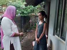 psychosocial counselor mahitha arranges online class facility for tamilnadu native student in ernakulam