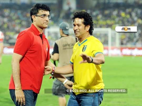 Sourav and Sachin