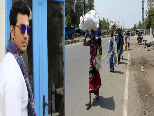 actor, mp dev protest for migrant workers situtaion during lockdown in india