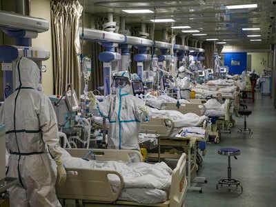 कोरोना मरीजों की तादाद में बेतहाशा वृद्धि। (सांकेतिक तस्वीर)