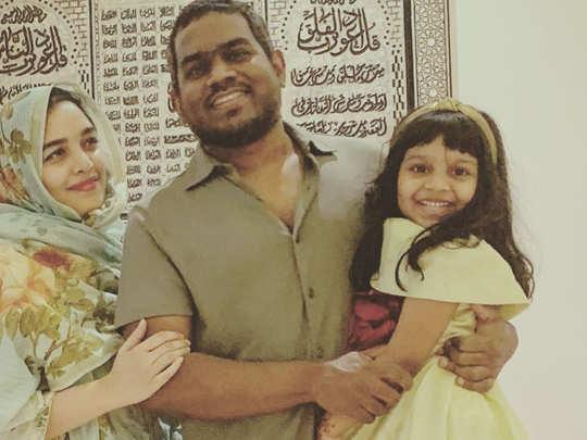 Yuvan Shankar Raja Family