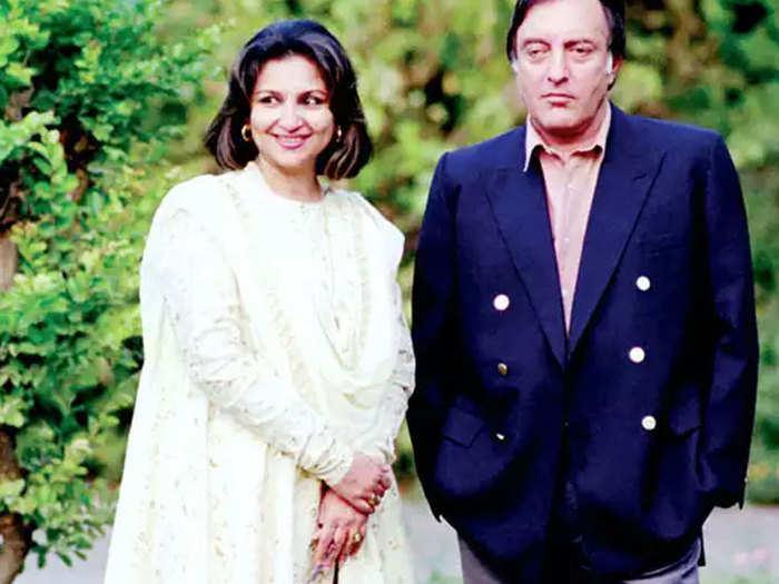शर्मिला टैगोर और उनके पति मंसूर अली खान पटौदी (फाइल फोटो)