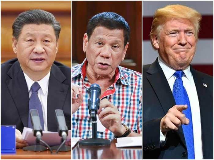 China US Philippines