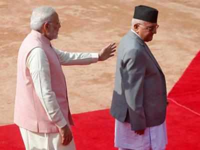 प्रधानमंत्री नरेंद्र मोदी और उनके नेपाली समकक्ष केपी शर्मा ओली (फाइल फोटो)