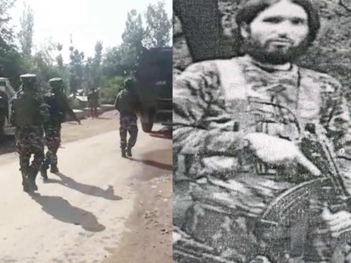 Hizbul mujahideen commander Farooq Ahmed Bhat