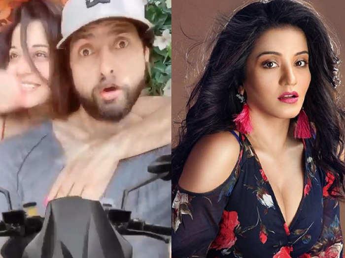 Monalisa and Vikrant comedy long drive