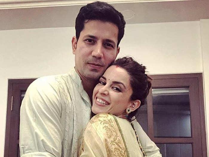 Ekta Kaul and Sumeet Vyas (फोटो: Instagram@ektakaul11)