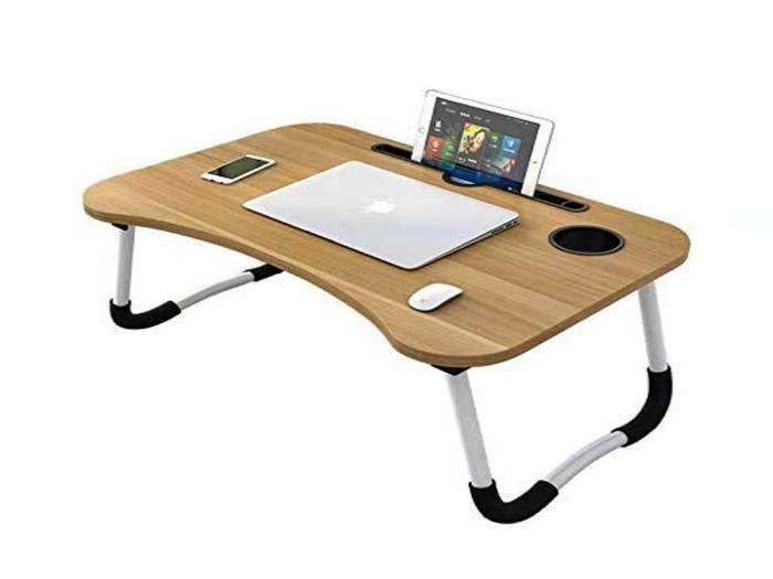 वर्क फ्रॉम होम के लिए Amazon से खरीदें ये लैपटॉप टेबल