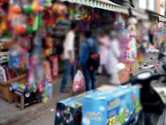 दुकानदार-ग्राहकामध्ये वाद, तोडफोड (प्रातिनिधिक छायाचित्र)