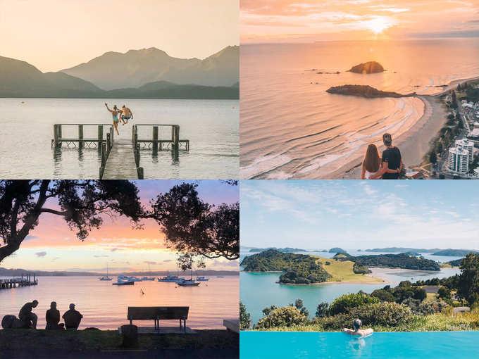 न्यूली वेड कपल्स के लिए बेस्ट है न्यूजीलैंड, देखें खूबसूरत तस्वीरें