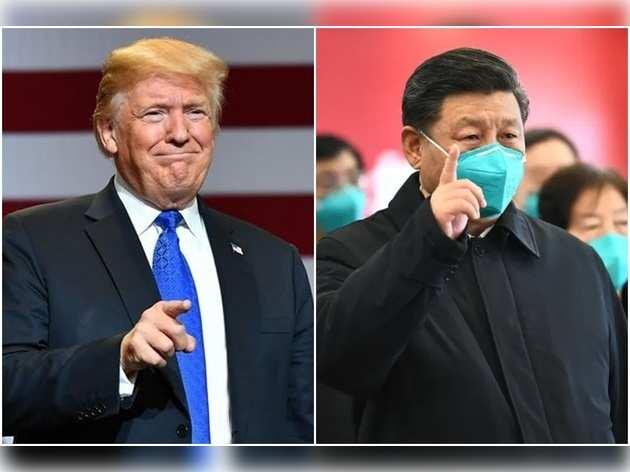 राष्ट्रपति ट्रंप और चिनफिंग