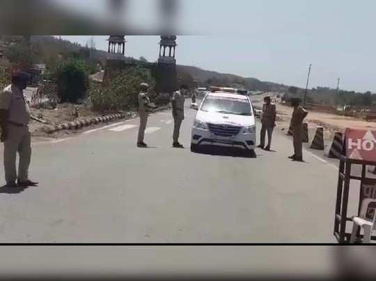 राजस्थान-गुजरात की सीमा रतनपुर बॉर्डर सील, आवाजाही पर लगी रोक