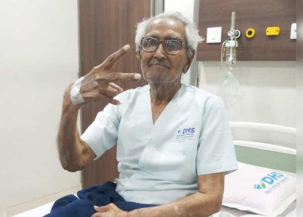 95 की उम्र में मात्र 6 दिन में कोरोना को दी मात