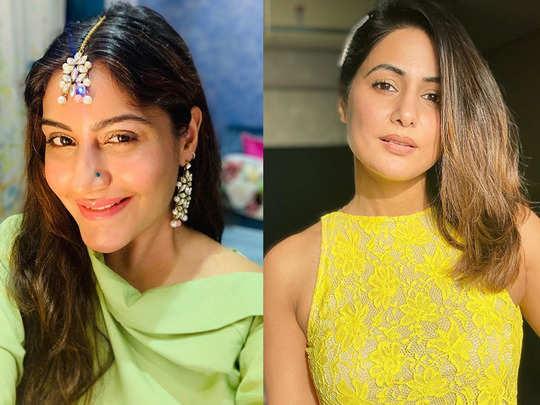 Hina Khan and Surbhi Chandna in Naagin 5