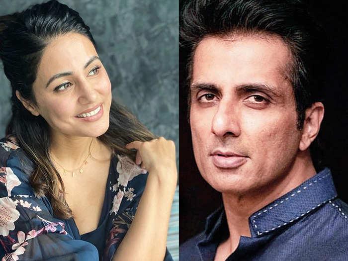 Hina Khan TikTok asks Sonu Sood for help