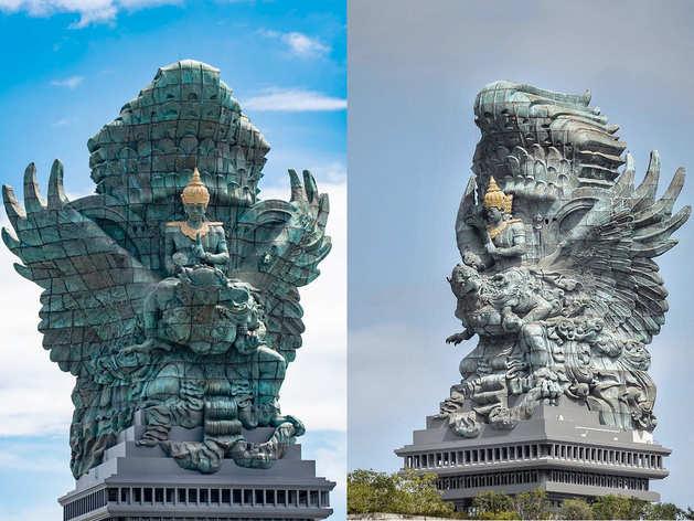 भारत में नहीं इस देश में मौजूद है भगवान विष्णु की सबसे बड़ी मूर्ति