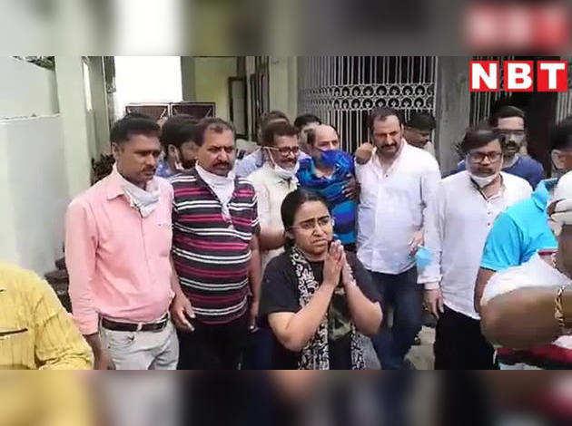 लड़खड़ाते कदमों के साथ घर से मुंबई के लिए रवाना हुए सुशांत सिंह राजपूत के पिता