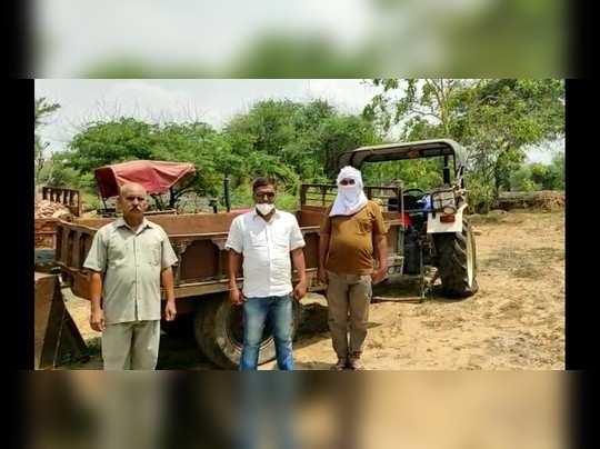 झुंझुनूं: बेखौफ खनन माफिया, वन विभाग की टीम पर किया हमला