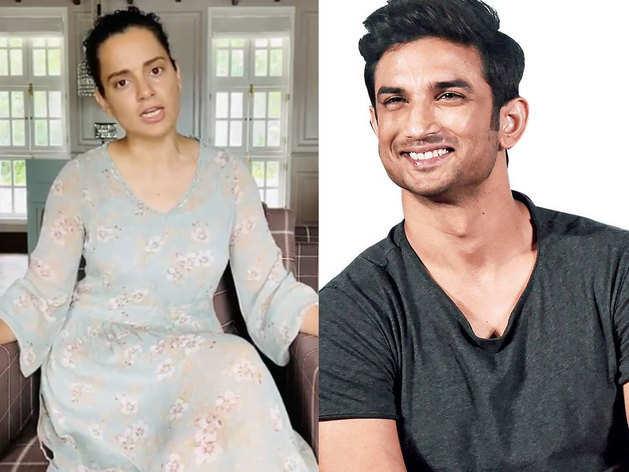 kangana reaction on sushant singh suicide: कंगना रनौत ...