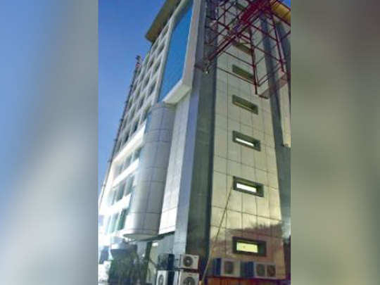 साइबर टॉवर में है कंपनी का कार्यालय