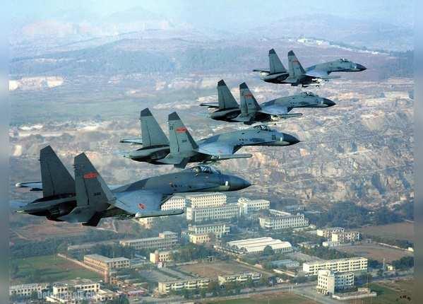 ताइवानी लड़ाकू विमानों ने चीनी प्लेन को खदेड़ा