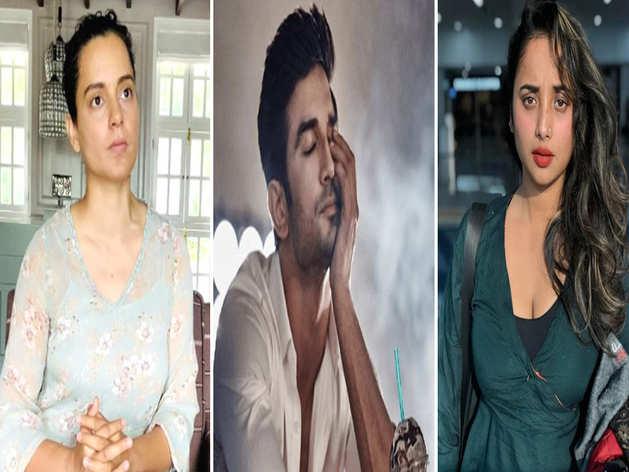 shushant singh Kangana Ranaut on nepotism supported Rani Chatterjee