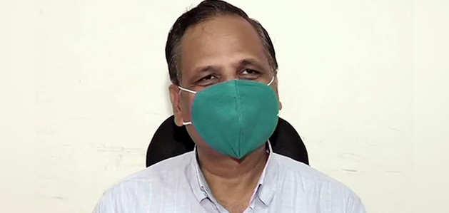 दिल्ली के स्वास्थ्य मंत्री सत्येंद्र जैन की कोरोना टेस्ट रिपोर्ट पॉज़िटिव