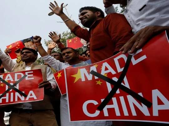 protests held against china, people pay tribute to martyrs