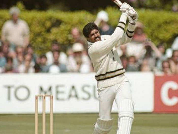 this day in cricket kapil dev played memorable 175 run inning in world cup became the first indian to score odi century