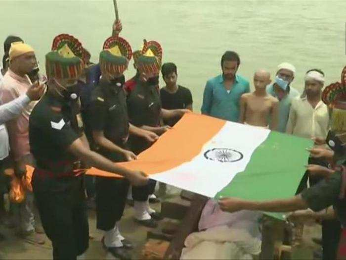 india china clashes in galwan valley martyrs mortal remains reaches home amid emotional atmosphere
