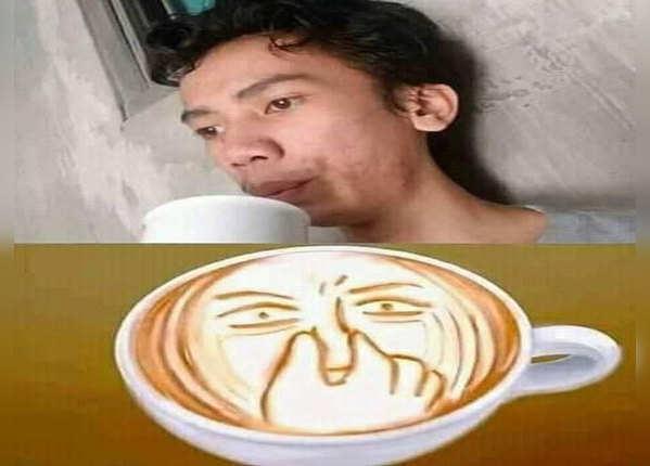 कॉफी का हाल देखिए